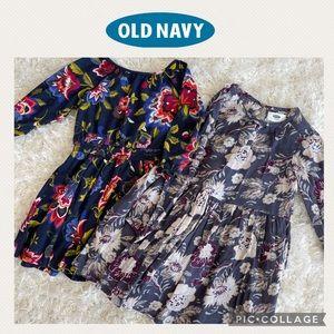 Old Navy girls dresses. Set of 2